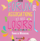 Forum des associations – septembre 2018